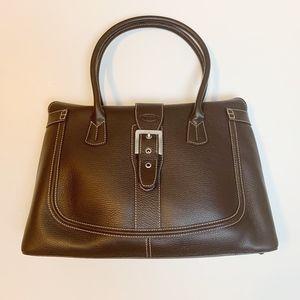 TOD's Top Handle Buckle Closure Oversized Handbag